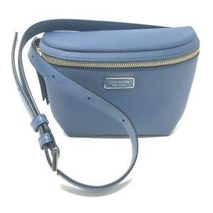 Kate Spade Dawn Belt Bag Fanny Pack Nylon Blue